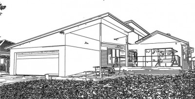 Sketch of Front of House