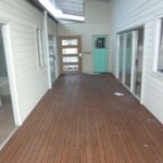 Central deck